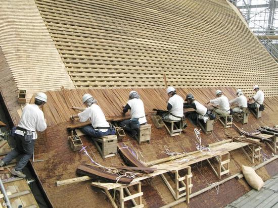 日本传统的建筑技艺(共同社)